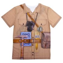 Dinosaur explorer's kids' t-shirt