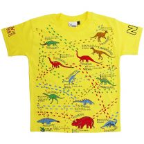 Kids' dinosaur footprints T-shirt