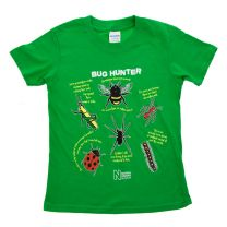 Green bug hunter t-shirt for kids