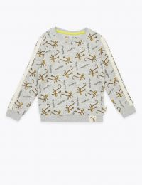 Roald Dahl grey monkey sweatshirt