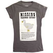 Missing dodo fitted t-shirt for adults