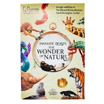 Fantastic Beasts™: The Wonder of Nature exhibition poster