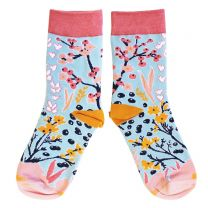 Floral design socks for adults