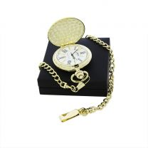 Gold-plated pocket watch