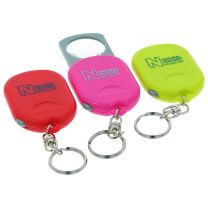 Museum souvenir pocket magnifier keyring - various colours