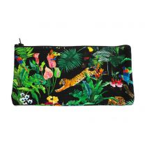 Devan's Jungle pencil case made with Liberty Fabric