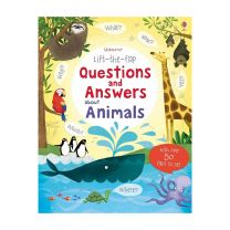 Lift the Flap Questions & Answers about Animals Book