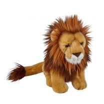 Large lion soft toy