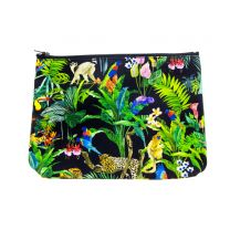 Devans Jungle make-up bag made with Liberty Fabric