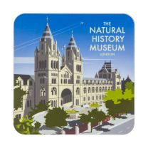 Dave Thompson Waterhouse Building illustration coaster