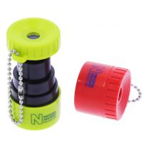 Museum souvenir mini zoom lens keyring - various colours