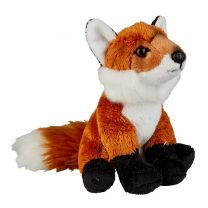Mini red fox soft toy