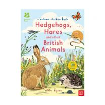 National Trust: Hedgehogs, Hares and Other British Animals (National Trust Sticker Spotter Books)