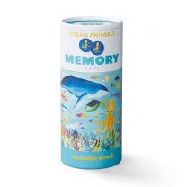 36 ocean animals memory game