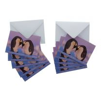 Training Session set of 8 Christmas cards
