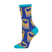 Giraffe design socks for adults