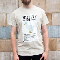 Missing dodo t-shirt for adults