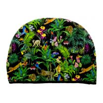 Devans Jungle tea cosy made with Liberty Fabric
