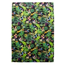 Devans Jungle tea towel made with Liberty Fabric
