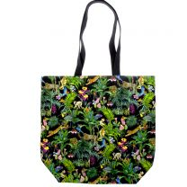 Devans Jungle tote bag made with Liberty Fabric