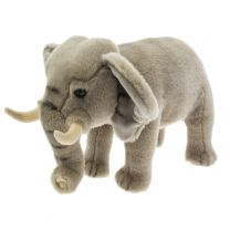 African elephant soft toy