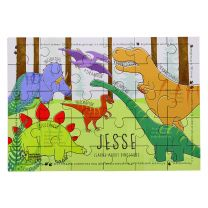 Personalised Mesozoic monsters 30 piece puzzle