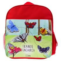 Personalised butterfly rucksack