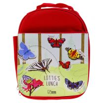 Personalised butterfly lunch bag