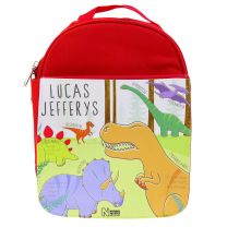 Personalised Mesozoic monsters lunch bag