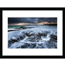 Southern swell wall print