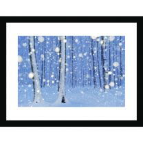 The magical forest wall print
