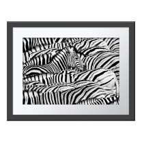Life in Black and White wall print