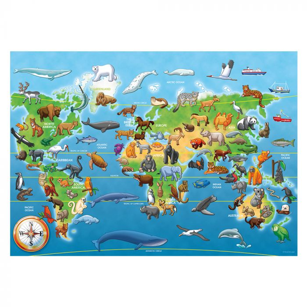 World 60 Piece Giant Floor Puzzl
