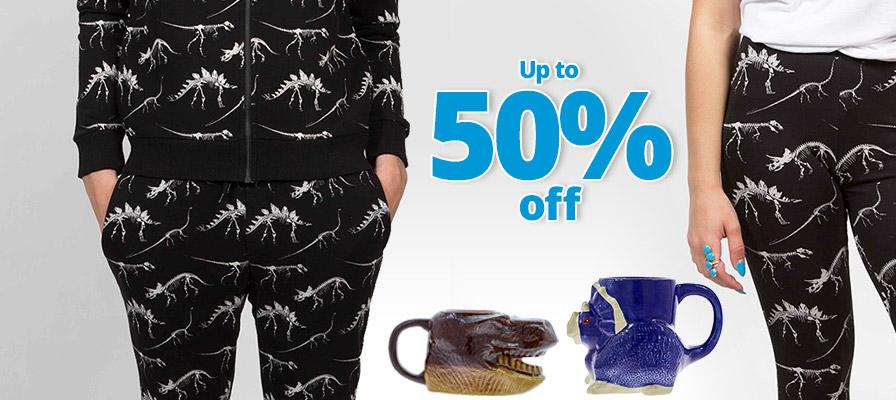 mens dinosaur joggers, dinosaur mugs, up to 50% off, dinosaur yoga pants,