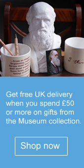 Free UK delivery when you spend £30 or more on gifts from the Museum collection