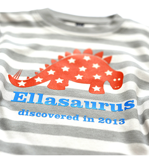New personalised T-shirts for kids - free delivery over £30 - Natural History Museum online shop