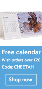 Free desk calendar when you spend over £20 - Natural History Museum online shop