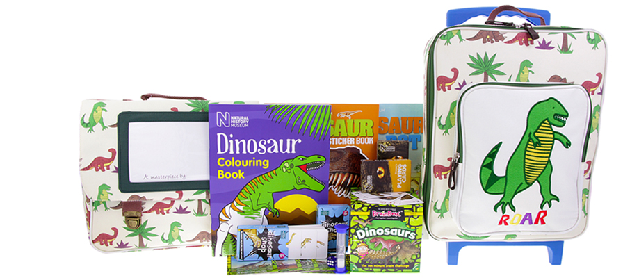Win kids travel set worth £100 from the Natural History Museum online shop