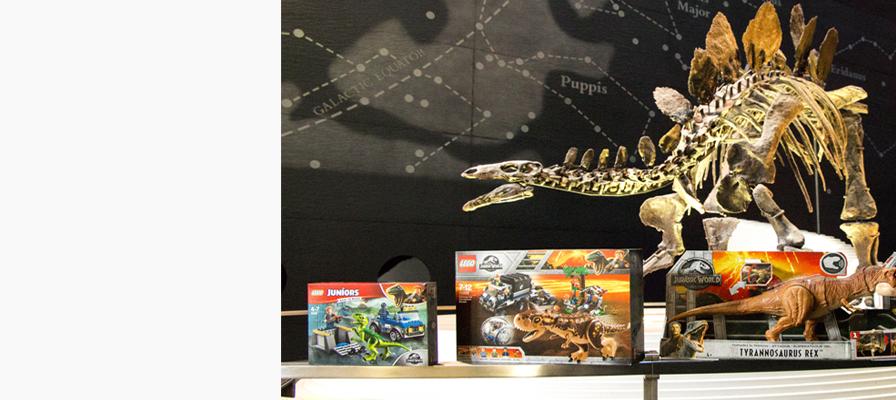 Win Jurassic World prizes