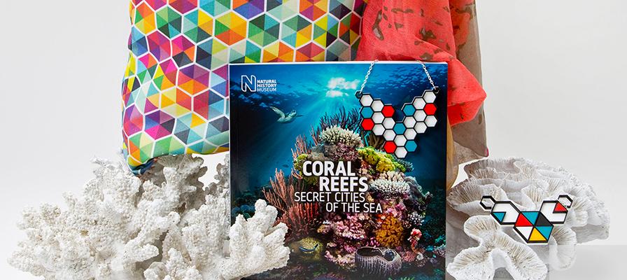 Corals exhibition shop now open - Natural History Museum online shop