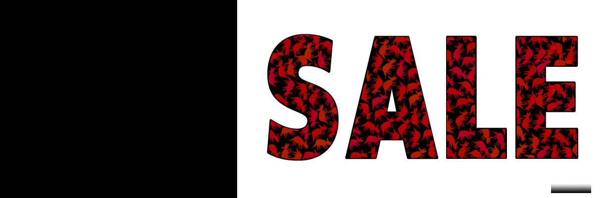 Sale graphic with a white background