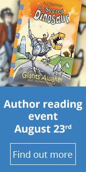 The Secret Dinosaur book - Author reading event 23rd August