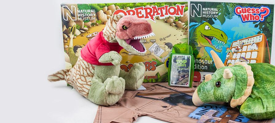 dinosaur soft toys, Guess who and Operation