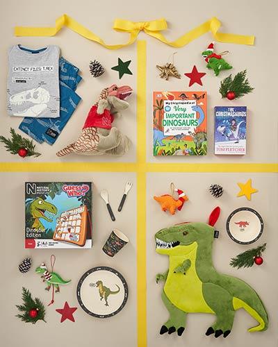 Dino Christmas gifts