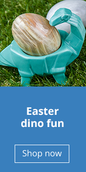 Easter dino egg cups | Natural History Museum online shop