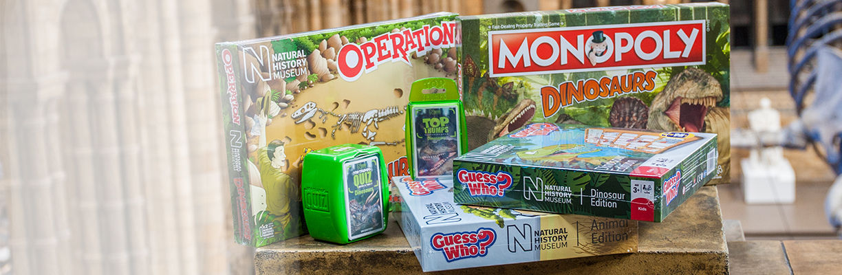 Dinosaur games from Natural History Museum