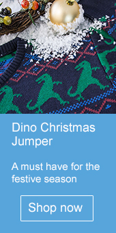 Dino Christmas Jumper - Natural History Museum online shop