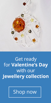 Amber dreamcatcher pendant for Valentine's Day Jewellery