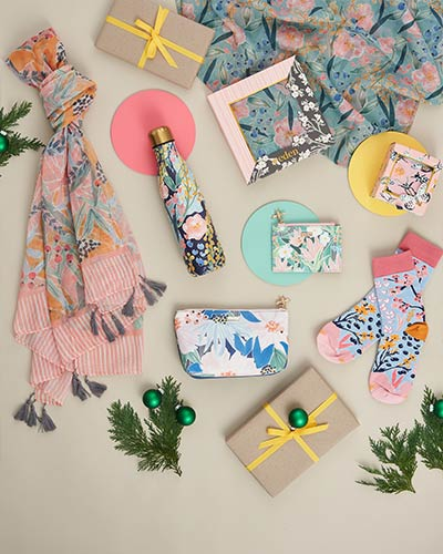 Woodland and floral Christmas gift ideas
