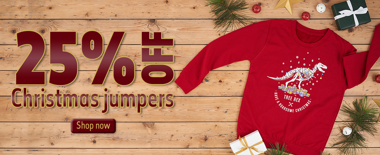 25% off Christmas jumpers